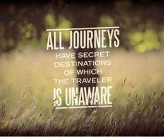 The unpredictability of life...