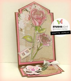 Odette's kaartenhoekje: For you . Studio Lighting, Mini Albums, I Card, Card Making, Craft Cards, In This Moment, Ticket, Crafts, Inspiration