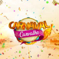 Selo/logo 3D - Carnaval Flyer Design, Logo Design, Sale Logo, Event Logo, Commercial Advertisement, 3d Typography, Promotional Design, Initials Logo, Design Show