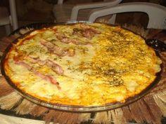 Massa de pizza do marido