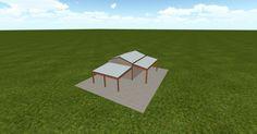 3D #architecture via @themuellerinc http://ift.tt/2sqTBjH #barn #workshop #greenhouse #garage #DIY