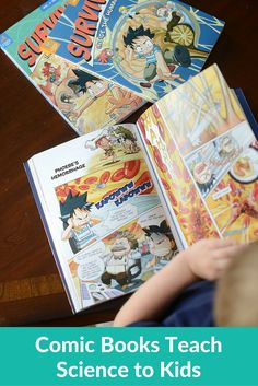 Comic Books Teach Science to Kids