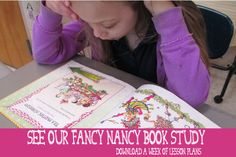 A Fancy Nancy Valentine, Part 2: A Fancy Party. Put a new spin on the same old make-and-trade Valentine cards event with a fancy party that is the culminating event of a week exploring Fancy Nancy books. My students spend days learning reading, science, and even manners through reading Fancy Nancy books. The end of the book study is timed to land on Valentine's Day so students can put their fancy knowledge to work while they celebrate.