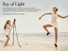 """""""Ray of Light"""" Karlie Kloss by Mikael Jansson for Vogue US April 2014"""