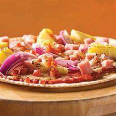 Pizzas hawaïennes - Soupers de semaine - Recettes 5-15 - Recettes express 5/15 - Pratico Pratique