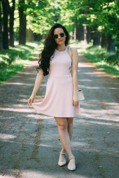 dress from Ivyrevel / bag … Continue Reading Old Fashioned Recipes, Summer Dress Outfits, Pink Dress, My Style, Youtube, Pink Sundress, Rose Pink Dress, Pink Dresses, Youtubers