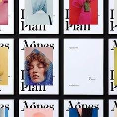 Beautiful branding for photographer Agnes Lloyd-Platt in London, created by in New Zealand. Learn more about… Editorial Layout, Layout Inspiration, New Work, New Zealand, Gallery Wall, Branding, London, Learning, Creative