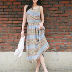 Sleeveless long maxi dress de Loveshop por DaWanda.com