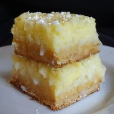 Coconut Cream Pie Bars 9x13 with Cake & pudding mixes.