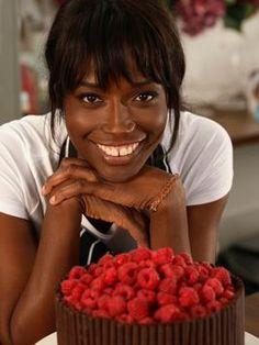 Celebrity patisserie chef Lorraine Pascale!