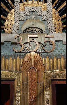 Amazing Art Deco Door