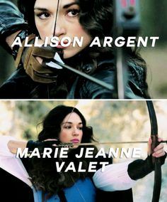 Crystal Reed in Teen Wolf. She is coming back in one episode. For a flashback
