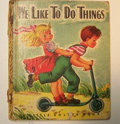 14 Inappropriate Classic Children's Books To Snuggle Up With Old Children's Books, Vintage Children's Books, My Books, Vintage Kids, Teen Books, Vintage Images, Unique Vintage, Retro Vintage, Little Golden Books