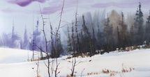 Watercolor Tutorial: Brush Techniques Paint Stroke Lessons