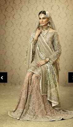d1f391b04c Heavy nikkah bridal Pakistani Bridal Couture, Pakistani Wedding Dresses,  Nikkah Dress, Pakistani Outfits