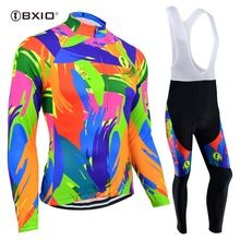 US $65.98 BXIO Pro Cycling Jersey Winter Thermal FleeceBicicleta Ropa Ciclismo Invierno Bike Mtb Women Cycling Sets Clothing Bicycle 122. Aliexpress product