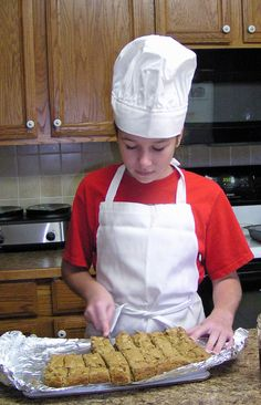 Child's Chef Hat and Apron. $20.00, via Etsy.