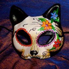 Image result for dia de los muertos kitty