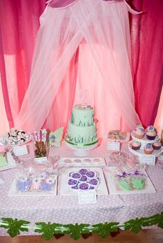 Candy and Cake: Welcome To Pixie Hollow: Janelle's 6th Birthday