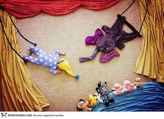 Mãe fotografa seu filho em cenários criativos – Blog O Sapo e a Princesa