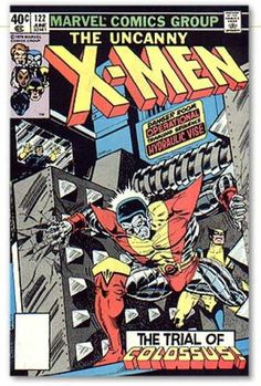 Uncanny X-Men 122 - Colossus - Wolverine - Danger Room - Cyclops - Trial Of Colossus - Dave Cockrum, Terry Austin