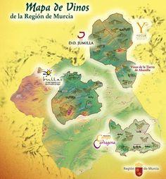 Zonas de producción - Los Vinos de Murcia