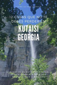 ▷ Cascada Para ver cerca de Kutaisi: La cascada Kinchkha con casi 70 metros de altura es una de las cascadas más altas de Georgia. Qué Hacer en Kutaisi (Georgia): la Guía completa [Qué ver, Dónde Comer y Dormir] ✔ Mega-guía con consejos donde te explico qué ver y hacer en Kutaisi, Georgia ya que vivo aquí desde Mayo 2017. ✔ 12 Lugares turísticos en Kutaisi, y donde comer y dormir en la segunda ciudad de Georgia. #cascada #georgia #viajar #viajes #destinos #insolitos #naturaleza Mayo 2017, Georgia, Travel, World, Wanderlust, European Travel, Viajes, Trips, Traveling