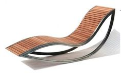 A chaise lounge/rocking chair? Yes!