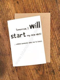 Card #496:  Tomorrow, I will ...