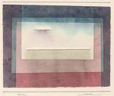 Paul Klee 'Ruhendes'
