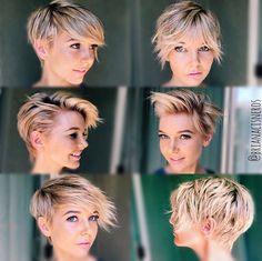 One cut styled many ways. @brianacisneros