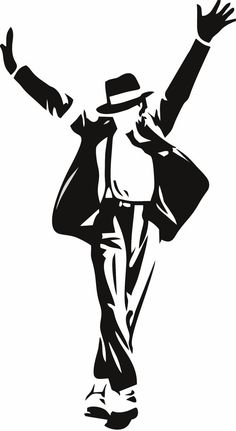 Michael Jackson Wall Decal 30 x 20 por LynchmobGraphics en Etsy