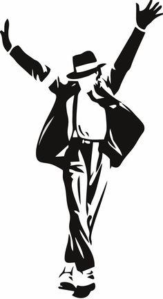 Michael Jackson Wall Decal 30 x 20 por LynchmobGraphics en Etsy