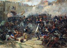 Battle of Smolensk, 1812.