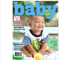 Magazine Cover Templates : Your Baby Printable DIY Magazine Cover Template For Word, Publisher, Apple iWork Pages