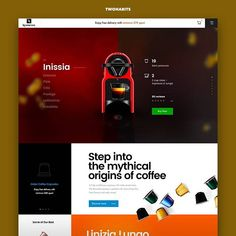Nespresso by Vitali Zahharov / Daily inspiration follow us and get inspired. #dailydesign #dailyui #websites #webdesign #webdesigner #designer #websitedesign #html #css #appdesign #ui #ux #uiux #uidesign #uxdesign #uitrends #uxdesigner #userinterface #userexperience #interface #interfacedesign #digitaldesign #designinspiration #landingpage #creativedesign #interaction #dribbble #behance #дизайны #сайт