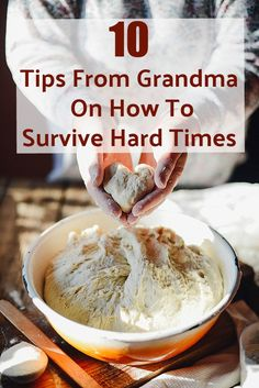 Old Fashioned Survival Tips from Grandma 10 Frugal Tips From Grandma On How To Survive Hard Times Living On A Budget, Frugal Living Tips, Frugal Tips, Frugal Meals, Simple Living, Frugal Recipes, Clean Living, Healthy Recipes, Survival Food