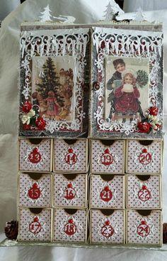 Adventskalender Calendar, Holiday Decor, Christmas, Inspiration, Home Decor, Advent Calendar, Biblical Inspiration, Navidad, Room Decor