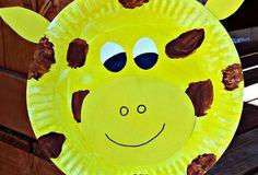 giraffe-paper-palte-crafts-kids & paper plate giraffe craft | Crafts | Pinterest