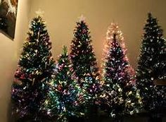 We Went Minimalist This Year With A Small Fiber Optic Tree  - 7 Ft Fiber Optic Christmas Tree Sale