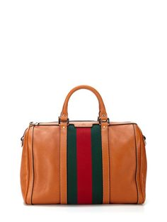 Gucci Striped Satchel by Gucci