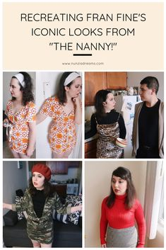 """Recreating Fran Fine's Iconic Looks from """"The Nanny"""" Halloween Cosplay, Halloween Ideas, Halloween Costumes, Cosplay Ideas, Costume Ideas, Nanny Outfit, Fran Fine, 90s Fashion, Fashion Outfits"""
