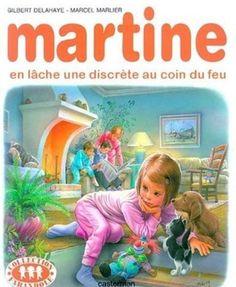 Martine en lâche une discrète au coin du feu