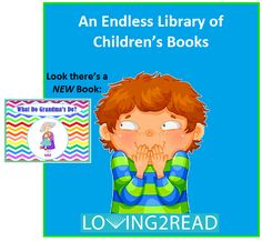 Mother's Day is right around the corner.  Grandmother's like to be recognized too!  www.loving2read.com