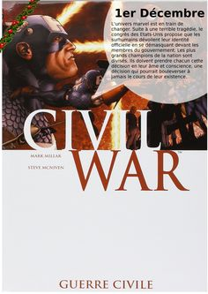 Civil War, Mark Millar Steven McNiven, Panini Marvel