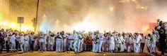 Grupo Mascarada Carnaval: El talco embadurna el Guiniguada