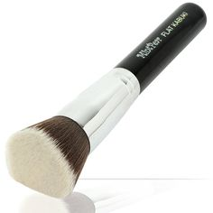 Foundation Makeup Brushes Best Flat Top Kabuki Cosmetic Tools For Blending Mineral Powder Bronzer Liquid and Concealer Smooth Flawless Skin From MintPear- Copper Ferrule, Hardwood Handle and Ultra-Soft Dense Bristles Includes Free Cover *** Read more reviews of the product by visiting the link on the image. (Note:Amazon affiliate link)