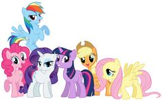 The Mane 6 - Rainbow Dash, Pinkie Pie, Rarity, Twilight Sparkle, Applejack and Fluttershy. My Little Pony Twilight, Mi Little Pony, Twilight Equestria Girl, Mlp Twilight Sparkle, Equestria Girls, Friendship Games, My Little Pony Friendship, Little Poni, Unicorn Coloring Pages