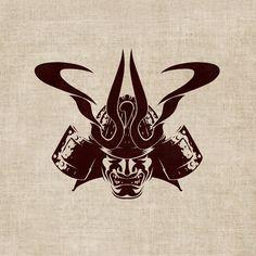Samurai Kamon - Symbol & Merch Design by T o K, via Behance