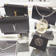 Once I was handed a glass of champagne in @YSL I of course said yes!! Which one do you think I went for...?  ______________________________________________________ #ysl #yslbag #yslbags #saintlaurentbags #saintlaurentbag #saintlaurent #yslbags #bondstreet #champagnelife #fblogger #fashionblogger #fbloggersuk #bbloggersuk #designerfashion #fashion #fashiondiaries #fashionblog #fashionlover #lovetoshop #shoppaholic #luxuryfashion #yslhandbags #ysltribute #30something #30plusblogs #ukblog...